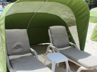 VIP Seating Canopy